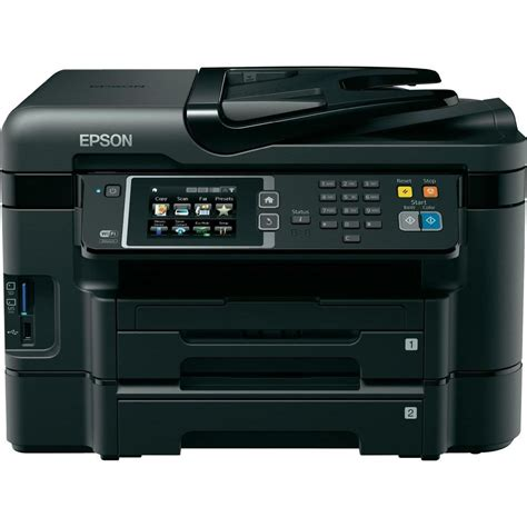 Printer Epson Adf epson workforce wf 3640dtwf inkjet multifunction printer