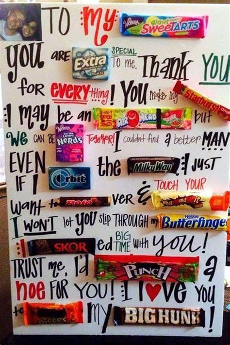 Anniversary Handmade Gifts For Boyfriend - 1000 ideas about boyfriend gifts on