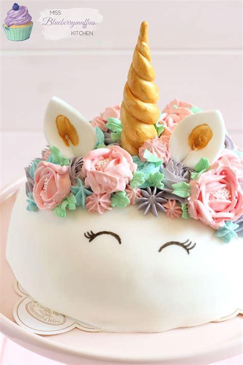 Einfache Torten by Einfache Einhorn Torte M 228 Dchen Geburtstagstorte