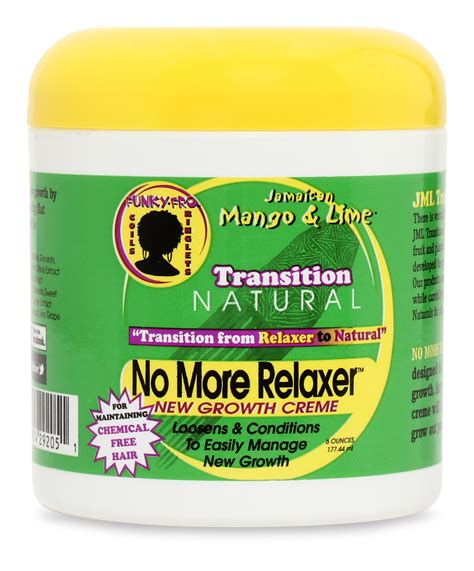 top products for relaxed hair jamaican mango and lime transition natural no more relaxer