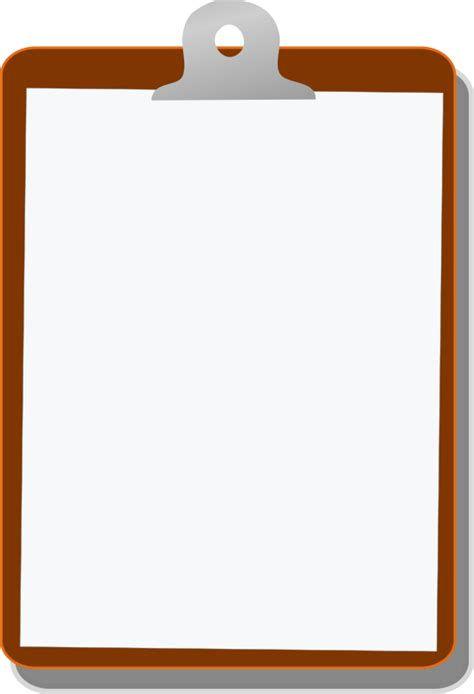 Clipboard Clipart by Clipart Clipboard 01