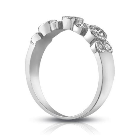 1 00 ct cut wedding band ring in