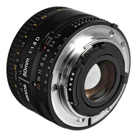 Lensa Nikon Af 50mm F1 8 D nikon af 50mm f 1 8d harga dan spesifikasi