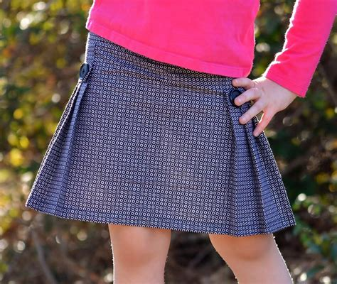 tally pleated skirt and shorts by chelsea b craftsy