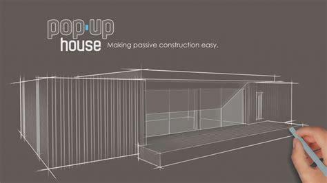 pop up house pop up house la maison passive construite en 4 jours