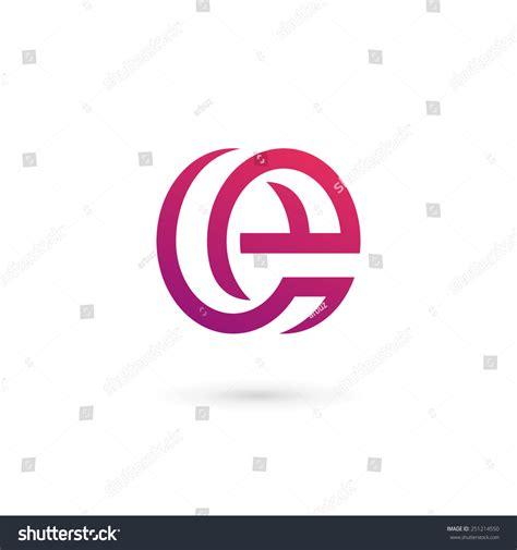 e e typography letter e logo icon design template stock vector 251214550
