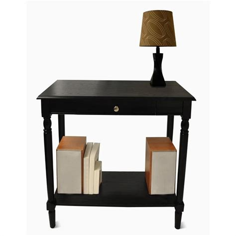 hall accent table hall table black 6042188bl