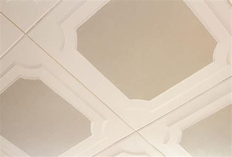 Install Ceiling Tiles by How To Install And Paint Decorative Ceiling Tiles P G