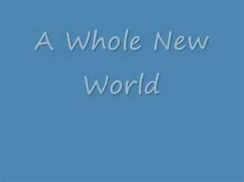 A Whole New World by A Whole New World Videolike