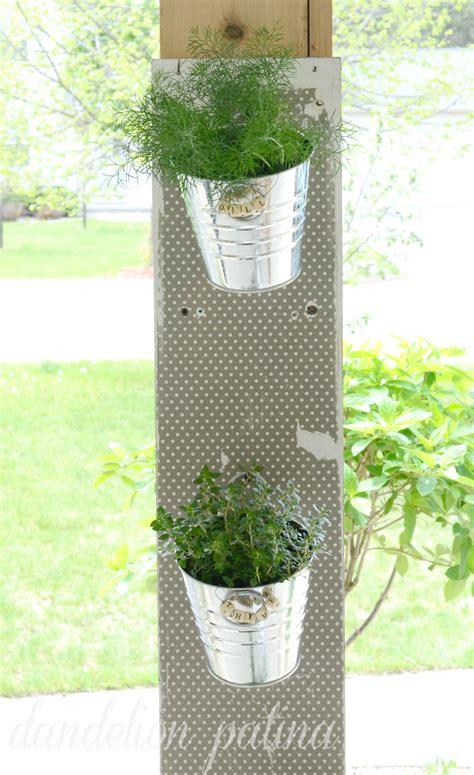 diy hanging herb garden diy hanging herb garden tutorial ella