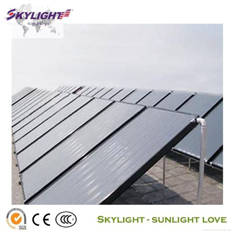 New Flat Energy flat plate solar collector slfpc skylight china