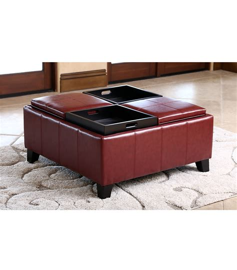 ottomans benches vincent convertible ottoman