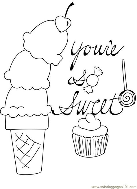 ice cream coloring pages pdf free coloring pages of scoop of ice cream