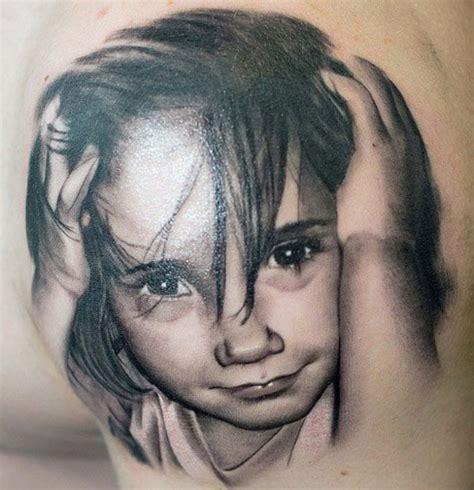 portrait d enfant en tatouage 170 inkage