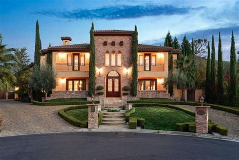 tuscan style home  alamo california homes   rich