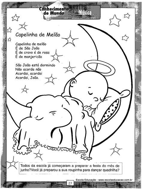 Atividades festa Junina Poema - Escola Educação