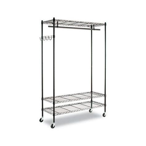 alera wire shelving garment rack alera wire shelving garment rack organization closet