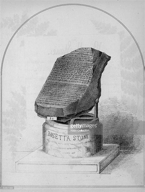 rosetta stone deciphered the rosetta stone discovered july 19 1799 getty images
