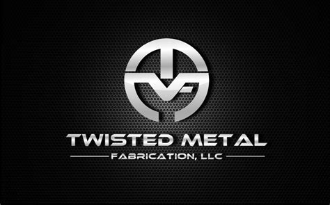 design a metal logo bold modern logo design for twisted metal fabrication by