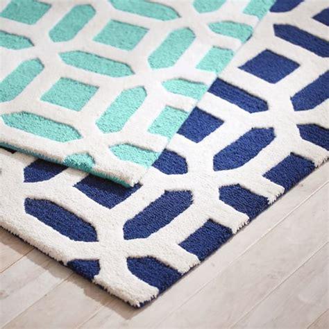 pbteen rugs peyton rug royal navy pbteen