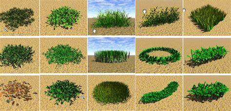 garden landscape dsmax modelso grass  model