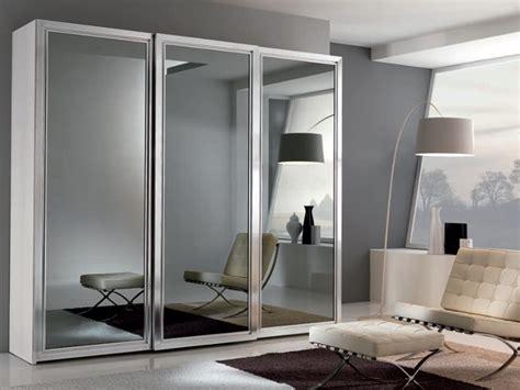 armadio ante scorrevoli a specchio armadio mod link con specchi fum 232