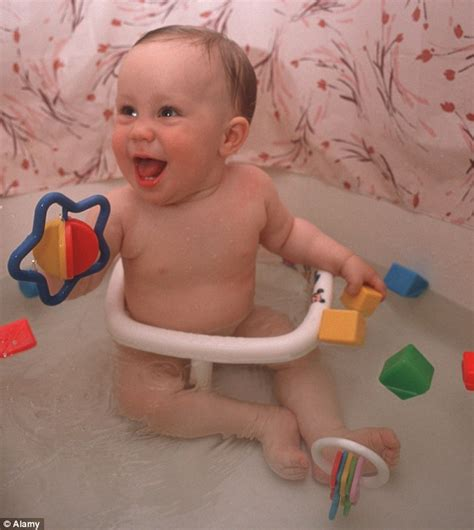child drowns in bathtub warning over baby bath seats and leaving children