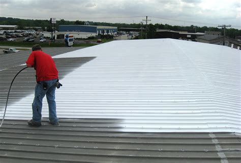 on roof spray on roof sealer for metal roof