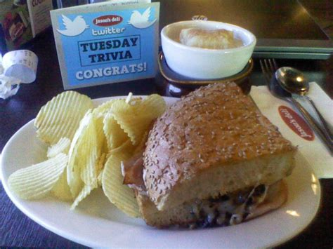 Jason S Deli Gift Card - free lunch thanks jason s deli and tuesdaytrivia life in the fishbowl