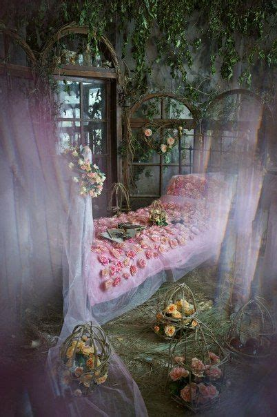Fairytale Bedroom by A Cosy Bedroom In A Tree For A Tale Character