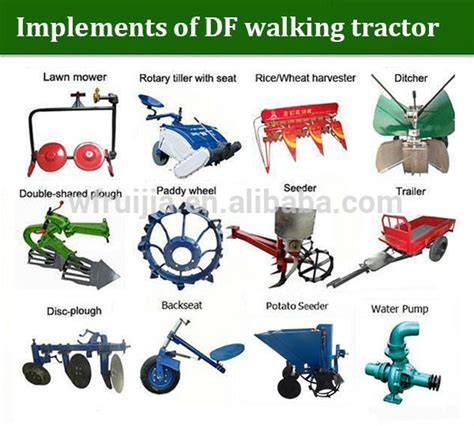 types of electrical accessories and their uses china tractor implements for sale diesle walking tractors