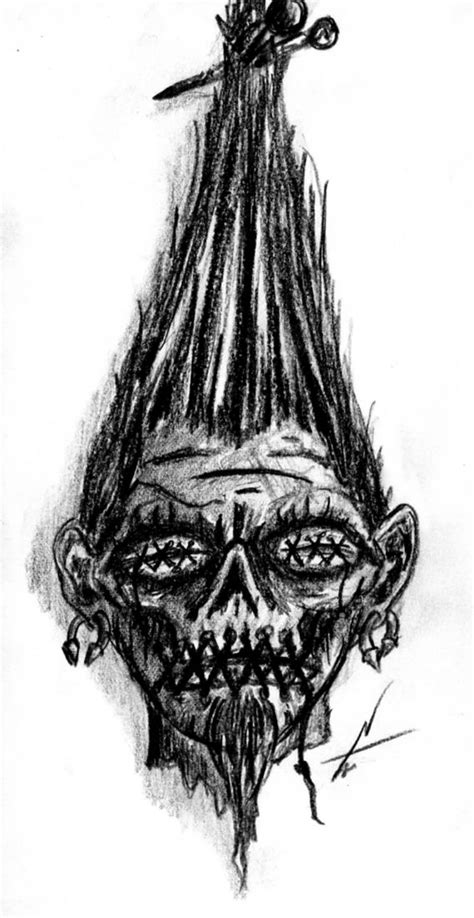 shrunken heads tattoo shrunken design by nelsontwaters deviantart