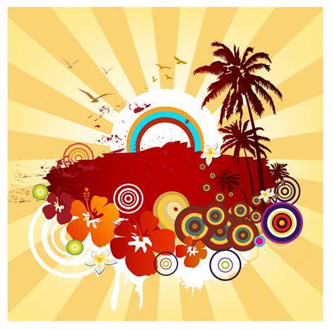design jpg free exotic summer design free vector 4vector
