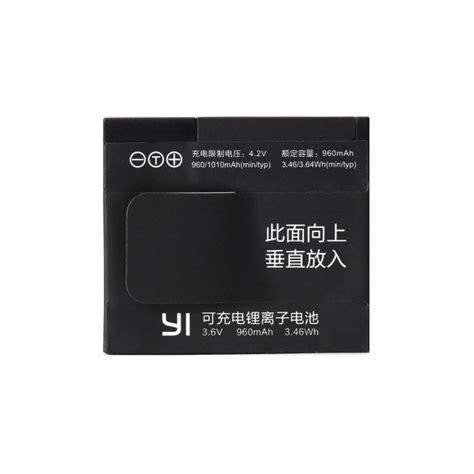 Terlaris Original Battery Replacement 960mah For Xiaomi Yi xiaomi 3 7v 960mah li ion battery for xiaomi yi
