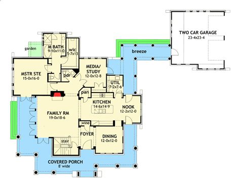 moss stone cottage house plan house plans by garrell floor plans for stone cottages