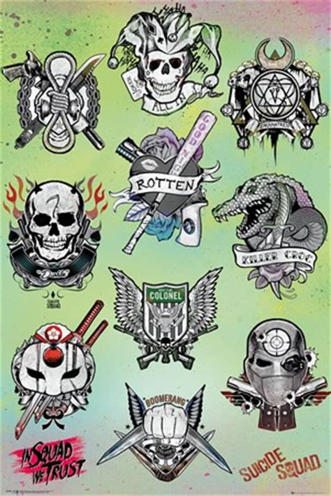 tattoo parlor dc tattoo parlor suicide squad poster buy online