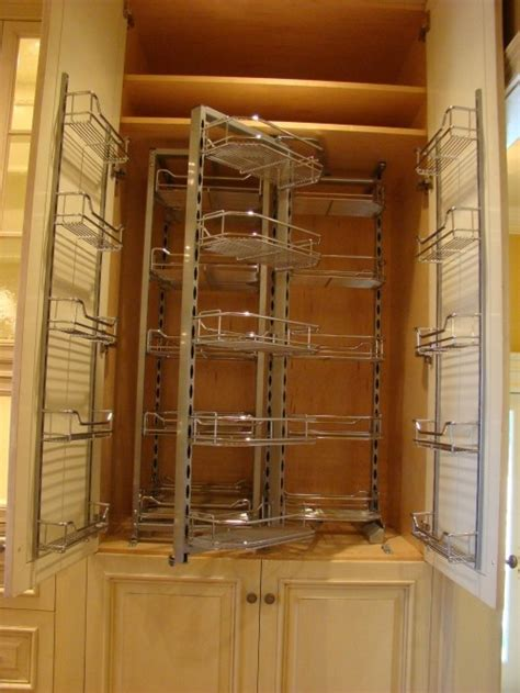 Kitchen Cupboard Rotating Shelf by Wow Rotating Pantry Storage Organization
