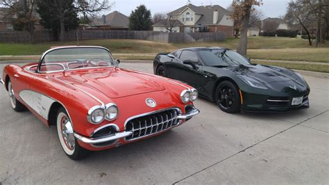 corvette c1 to c7 cool pic c1 c7 corvetteforum chevrolet corvette