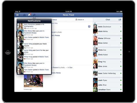 Facebook Ipad Giveaway - official facebook ipad app is finally here techerator