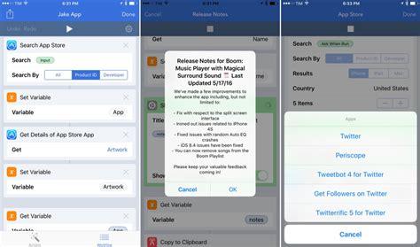 workflow app workflow werkt nu samen met app store apple en meer