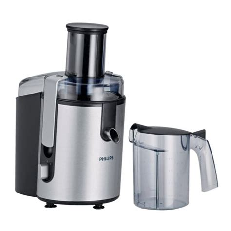 Juicer Philips 1861 nearly new philips brushed aluminium whole fruit