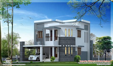 newest home plans beautiful house plans 4 bhk home design indian flat roof