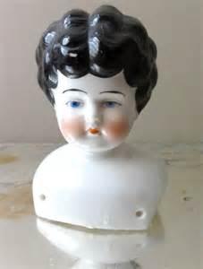 vintage porcelain doll head germany