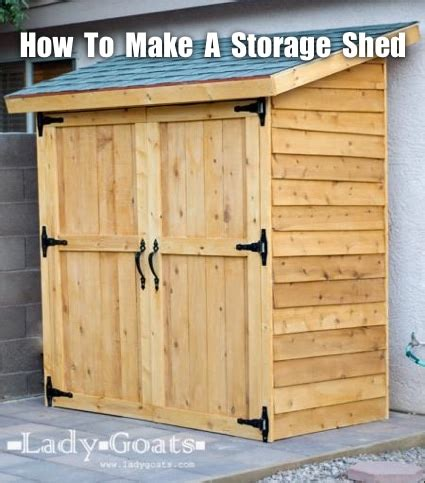 how to build an outdoor storage shed homestead survival