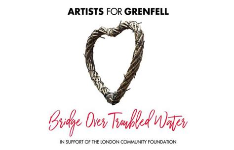 testo bridge troubled water artists for grenfell louis e liam insieme per bridge