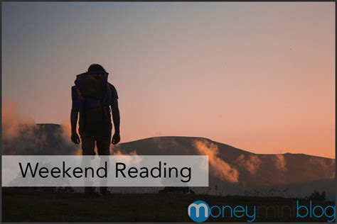 The Weekend Read by Money And Productivity Weekend Reading