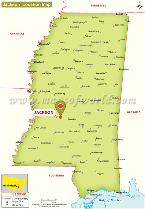 jackson usa maps where is jackson mississippi location map of jackson usa
