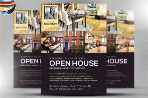 open house creative free printable mary kay flyers book covers