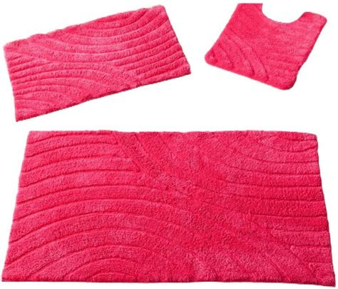 Raspberry Pink Rug by Suisses 20045644 Bath Rug Size 001 Raspberry Pink