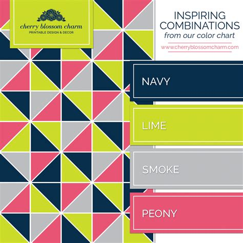 color combination color combinations charming printables